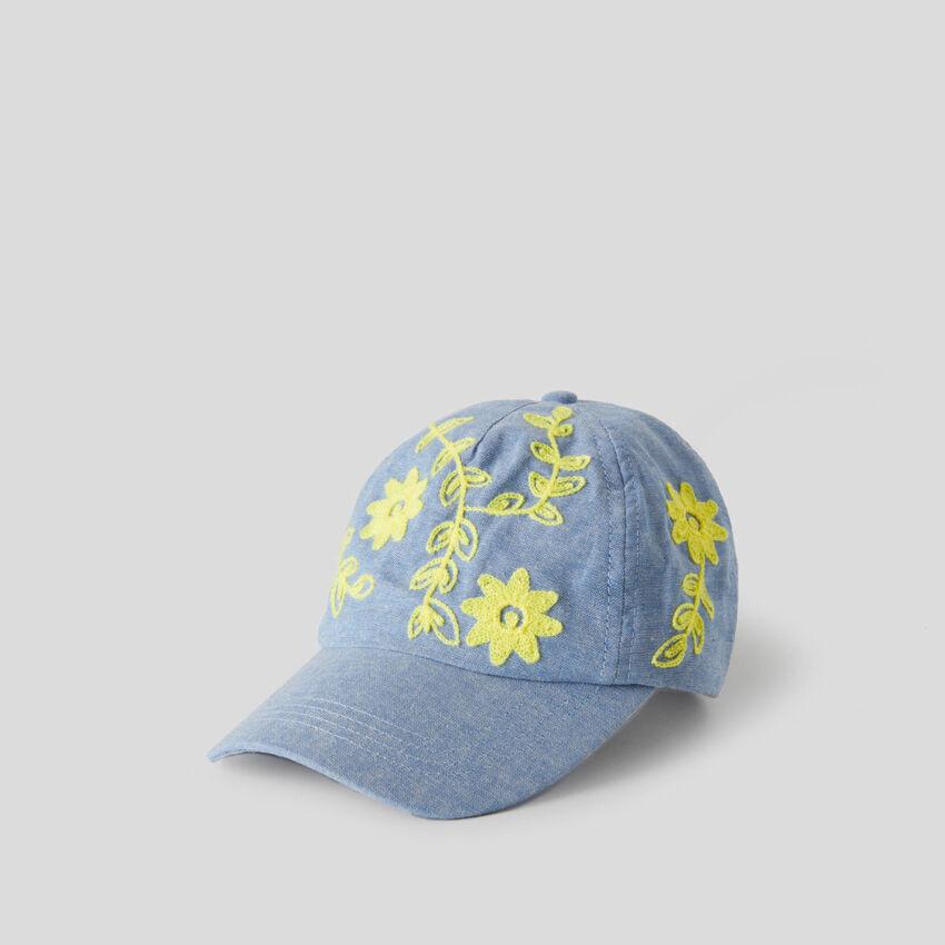 Light blue baseball cap