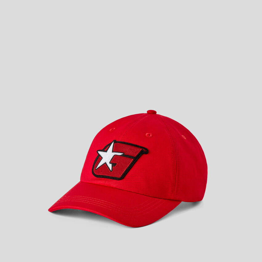 Red hat with G patch by Ghali