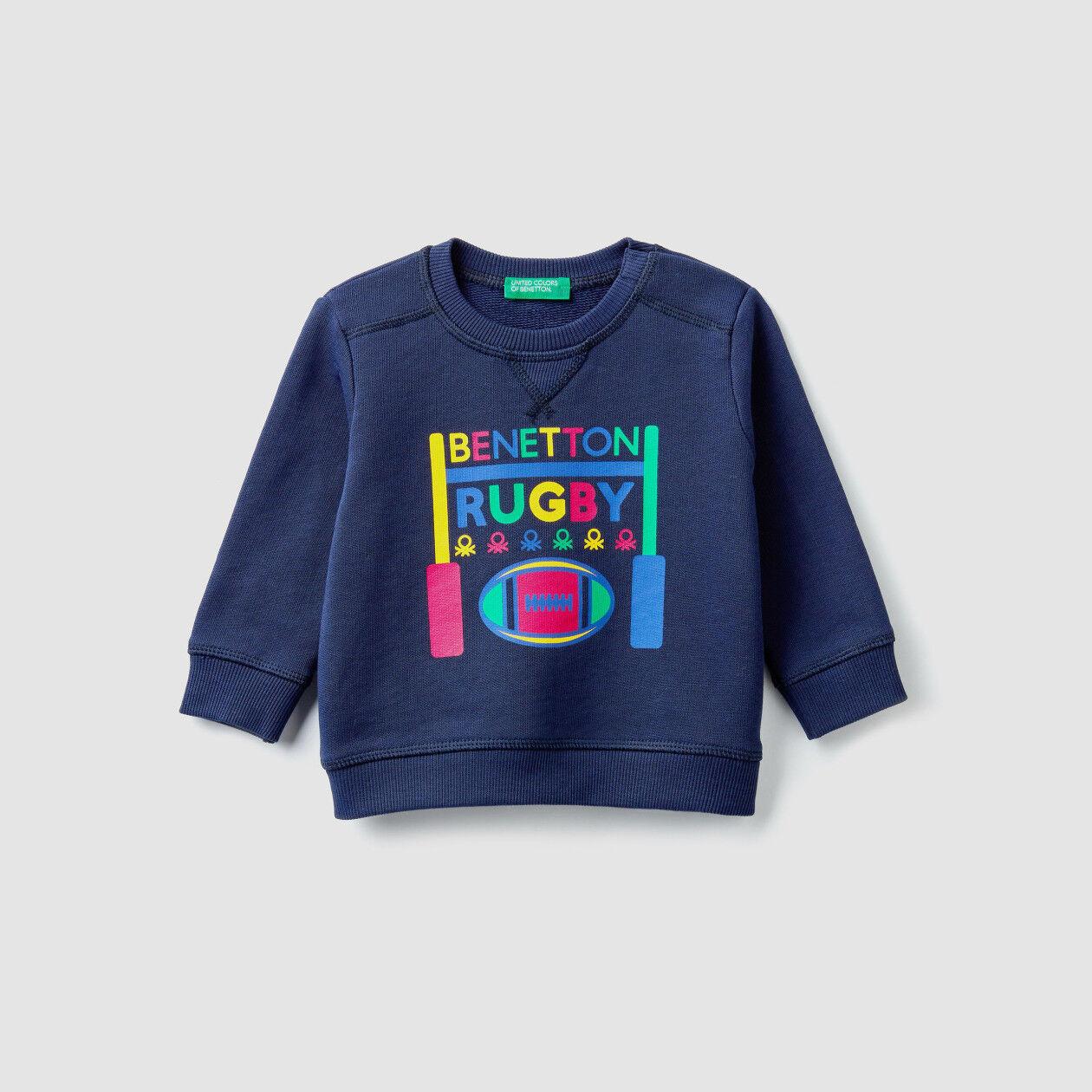 Sweatshirt in organic cotton