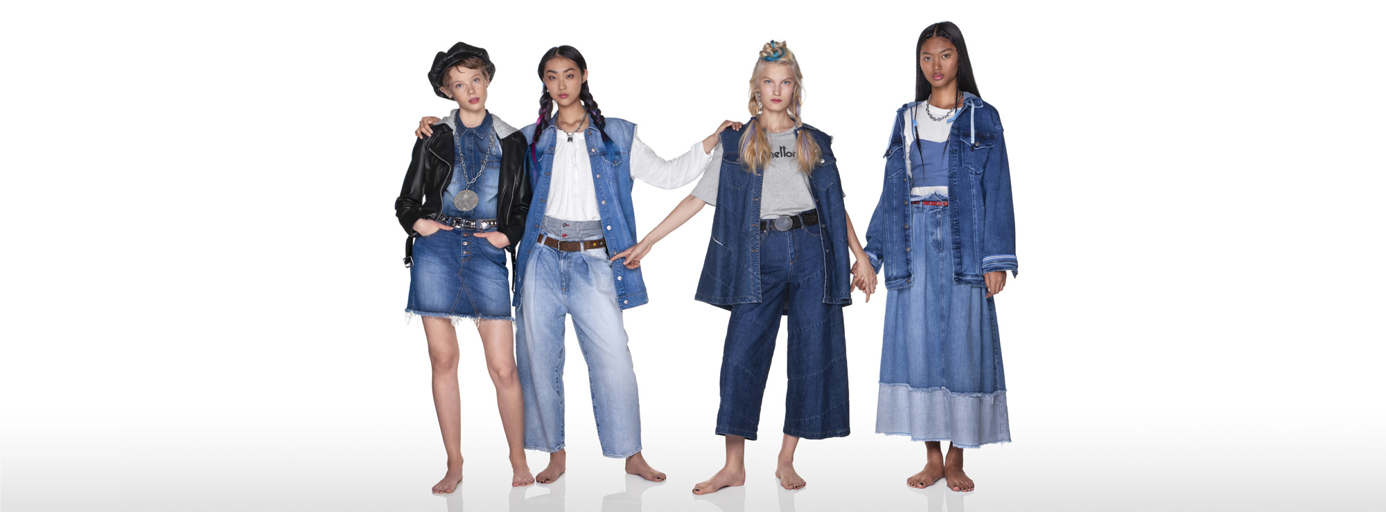 Women Denim Benetton