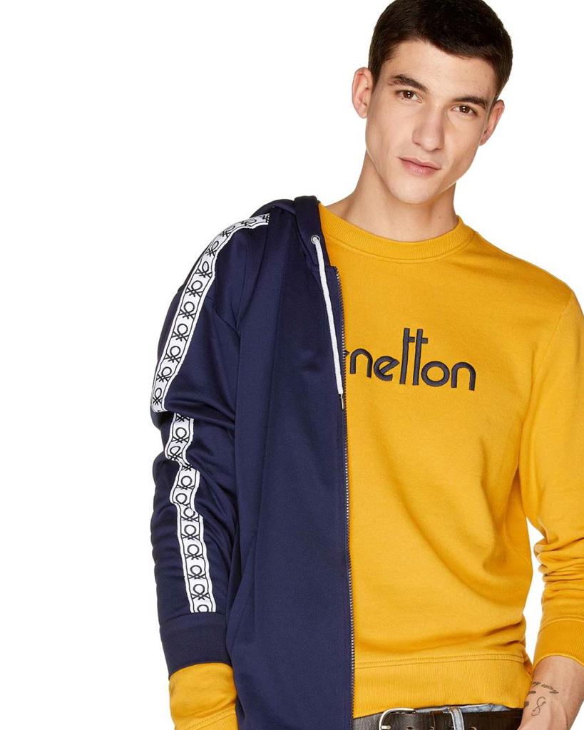 Mens Maglia Polo M//M Shirt Z6ERJ United Colors of Benetton